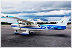 Florida Airplane Rental Cessna Button